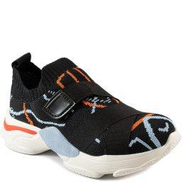 Tênis Sporty Slip On Knit Com Velcro Verão 2022 Tanara T5623