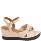 Anabela Knot Numeração Especial Sapato Show 15152 2