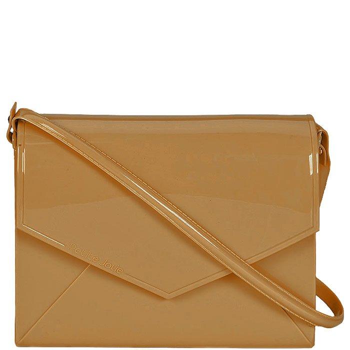 e19a19c0c Bolsa Flap Bag Petite Jolie 2365 - Nude | Sapato Show