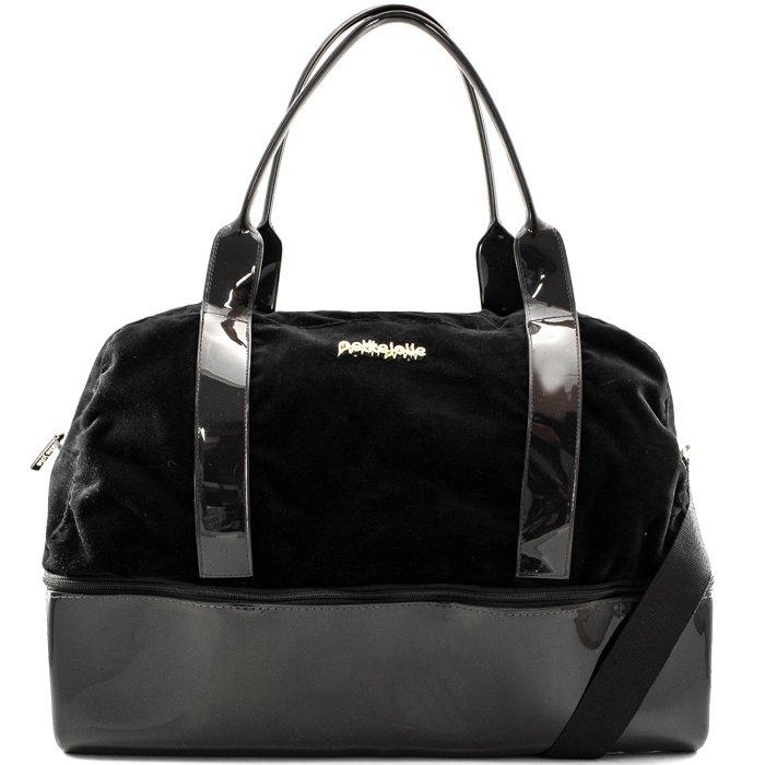 a5e35094b Bolsa Grande Weekend Bag Petite Jolie 3175 - Black