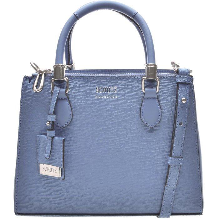 10c23d1878 Bolsa Mini Tote Lorena Schutz S500113311 - Azul