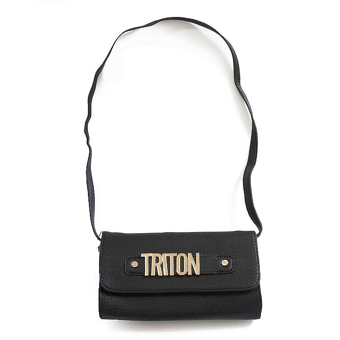 01159cc58 Bolsa Triton 901400914 - Preto | Sapato Show