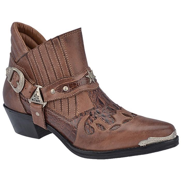 Bota Cowboy Masculino MTrez - 9026 -  85781007d21