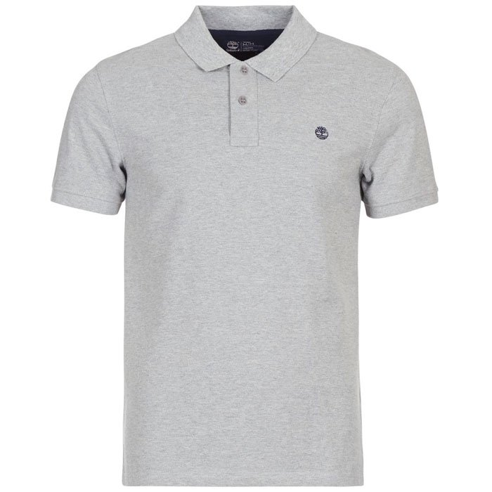 f46efee835afc Camisa Polo Manga Curta Timberland Ss Millers River - Cinza