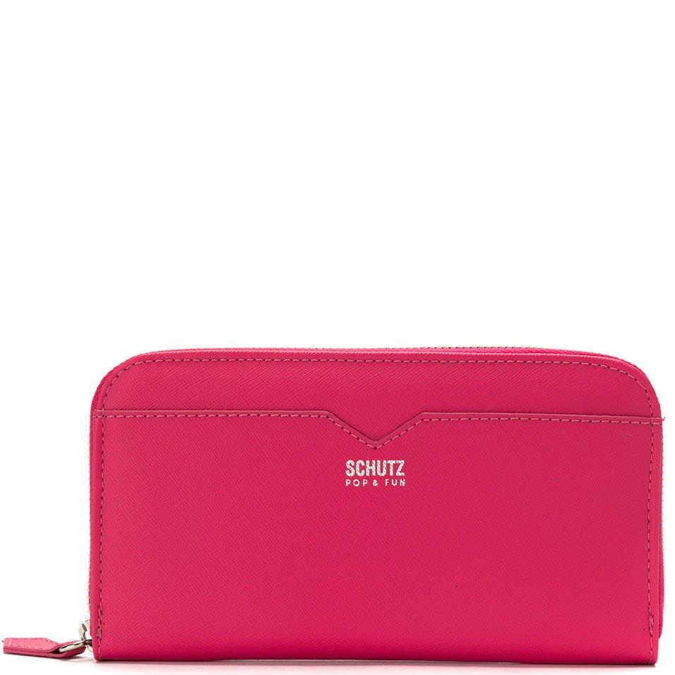 286e163f6 Carteira Zíper Schutz S460140045 - Pink | Sapato Show