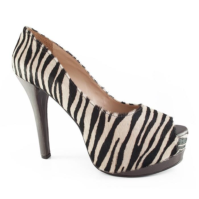 d2fd316c90 Peep Toe Numeração Especial Belmon - 29-02 - Zebra Cafe