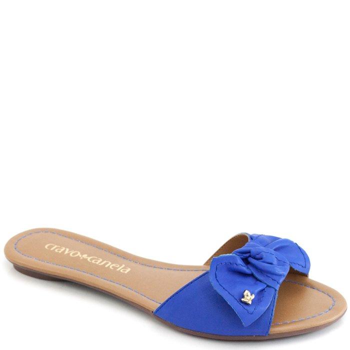 3cef62760d Rasteira Laço Cravo e Canela 88038k - Azul