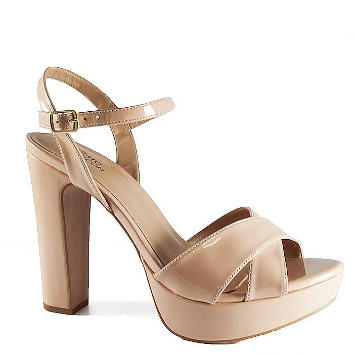 d255e7af27 Sandália Salto Grosso Numeração Especial Sapato Show - 943116e ...
