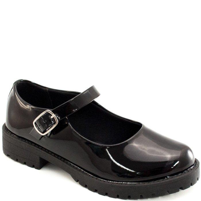 37caeae43 Sapato Boneca Tratorado Sapato Show 11688 - Verniz Preto | Sapato Show