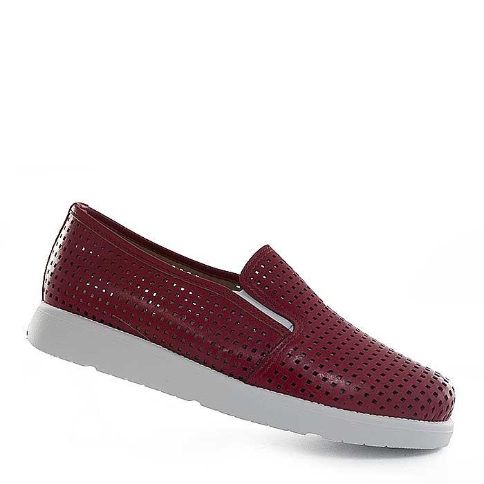fa32f5d41e Slip On Sapato Show Numeração Grande 9971 - Vermelho