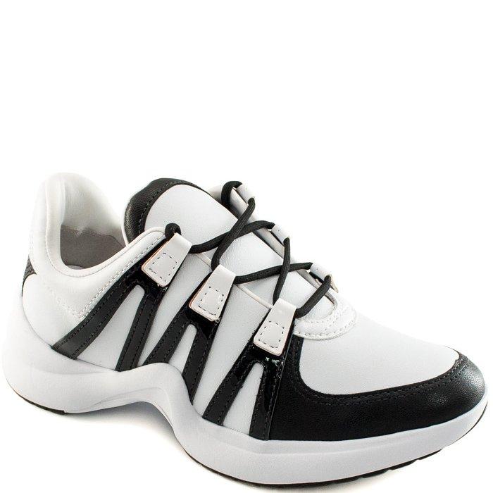 97d8f901bf Sneaker Chunky Trainer Ramarim 1875202 - Preto Branco