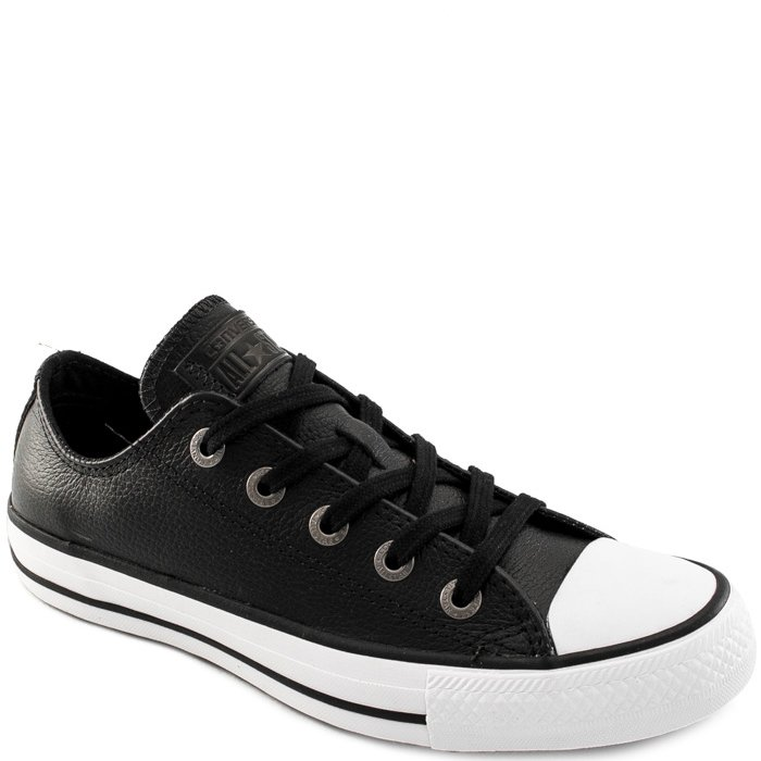 9c3aa60a4 Tênis Converse Chuck Taylor All Star Ox Couro - Preto