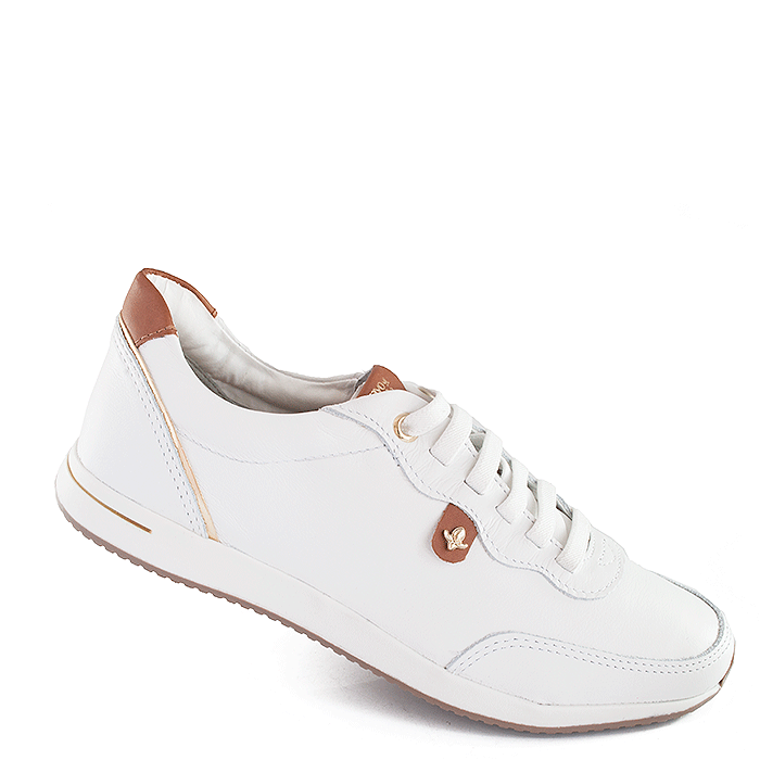 59f8197ed Tênis Feminino Cravo e Canela - 97608 - Branco avela