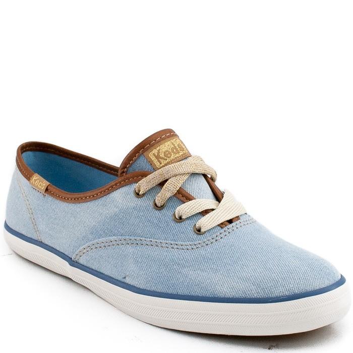 96fdd47d067 Tenis Keds Champion Jeans 769100 - Jeans Azul