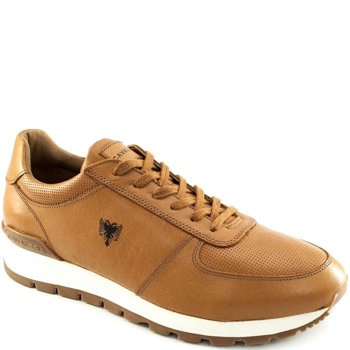a11a05dce9 Tênis Sneaker Em Couro Masculino Cavalera 13012447 - Caramelo ...