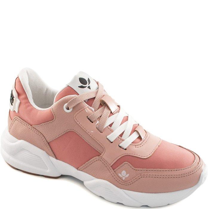 00914bd33c7 Tênis Sneaker Feminino Chunky Cravo e Canela 156301 - Rosa Quartzo ...