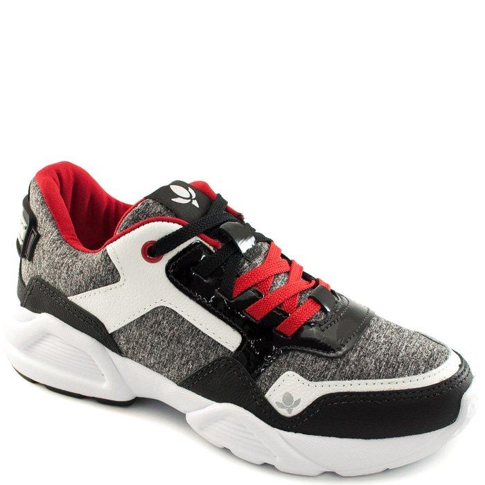 028be57801c Tênis Sneaker Feminino Chunky Cravo e Canela 156301 - Mescla ...