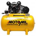 Imagem - Compressor de Ar 2 HP 10 Pés 100 Litros - Motomil  - 4546