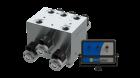 Imagem - Comando hidráulico 3 funcões/seçoes com acionamento elétrico para movimentação das barras do pulverizador