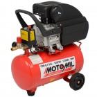 Imagem - Motocompressor de ar 2 HP 24 Litros - Motomil - 1344