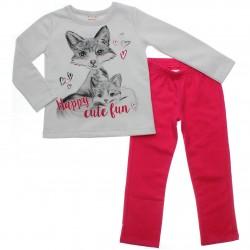 Agasalho Brandili Club Infantil Menina Happy Cute Fun 31081