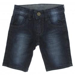 Bermuda Jeans Byla e Boby Infantil Menino Bolso Presp 29150