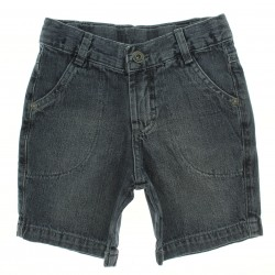 Bermuda Jeans Clube do Doce Infantil Menino Presp Bolso27601
