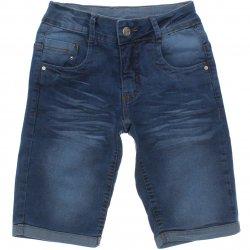 Bermuda Jeans Frommer Menino Bigode Barra Virada 31870