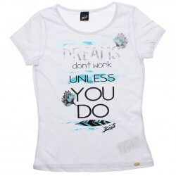Blusa Infanto Juvenil Elian Beats Croped Dreams You 31939