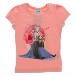 Blusa Manga Curta Frozen Disney Sisters Forever 28830