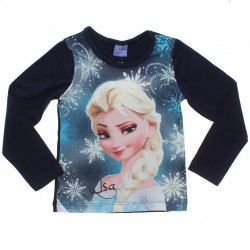 Blusa Manga Longa Frozen Disney Elsa 31074