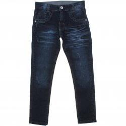 Calça Jeans Akiyoshi Juvenil Menino Bigodinho e Puido 31392