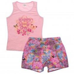Conjunto Infantil Menina Elian Regata Happy Sunny 31917