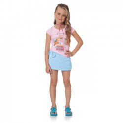 Conjunto Infantil Menina Time Kids Favorite Things Strass 31825