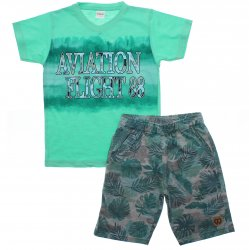 Conjunto Infantil Menino Elian Aviation Flight 31923