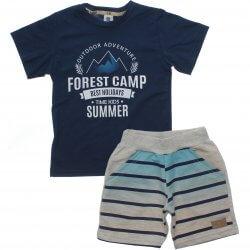 Conjunto Infantil Menino Time Kids Forest Camp 31834