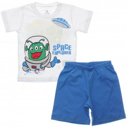 Pijama de Verão Brandili Infantil Menino Space ET 29944