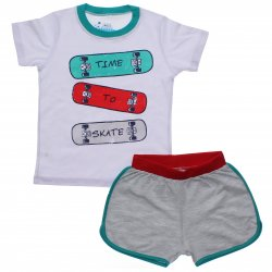 Pijama Infantil Have Fun Menino Camiseta Skate 31756
