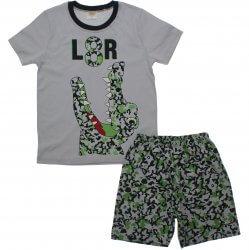Pijama Infantil Have Fun Menino Jacaré Camuflado 31911