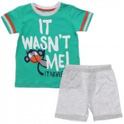 Pijama Infantil Have Fun Menino Macaquinho Vies 30166