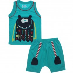 Pijama Infantil Have Fun Menino Regata Little Monster 31755