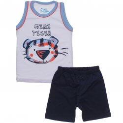 Pijama Infantil Have Fun Menino Regata Mini Tiger 31757