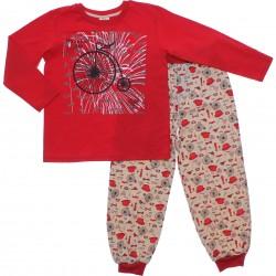 Pijama Inverno Have Fun Menino Malha Bicicletas 31293