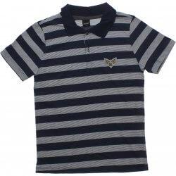 Polo Juvenil Rovitex Teen Listrada Com Patch 31903
