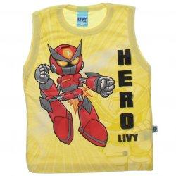 Regata Infantil Livy Menino Robô Hero 31780