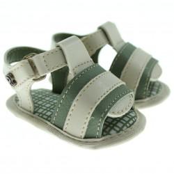 Sandália Pimpolho Bebê Menino Velcro Tiras Largas 27552