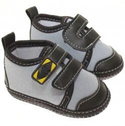 Sapato Keto Baby Menino Velcro Corino e Morcego 31260