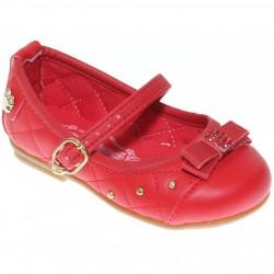 Sapato Pé Com Pé Menina Guty Fivela Laço Strass 30254