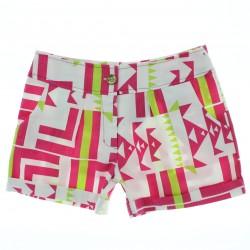 Shorts Infantil Menina Little Star Estampado em Sarja 27869