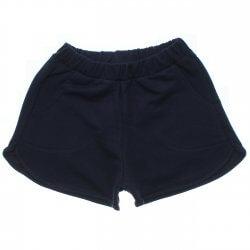 Shorts Rovitex Teen Moletinho Liso Bolso Frente 31573